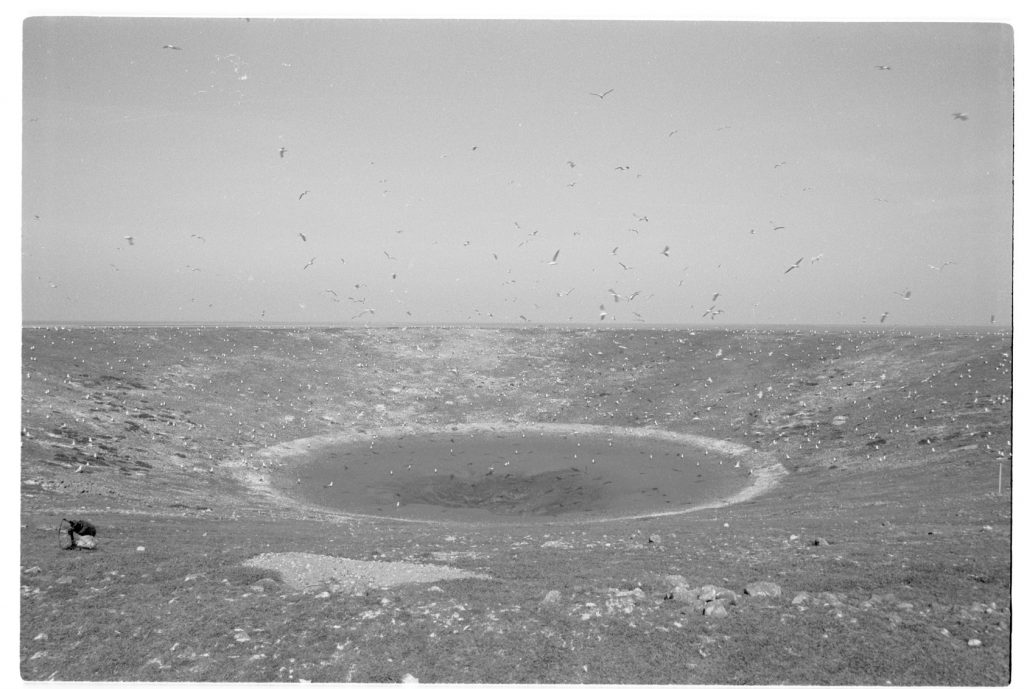 Neil Henderson: Tidal Island (production still courtesy of the artist)