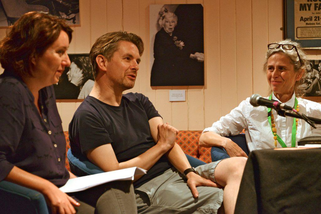 Rachel Lichtenstein & Jeremy Millar in Discussion, 2014. Photo: Bernard G Mills