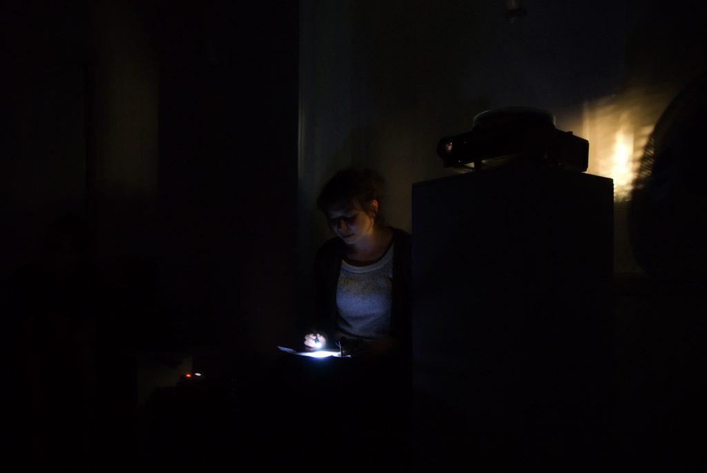 Katie Paterson, History Of Darkness, 2010. Photo: Simon Steven