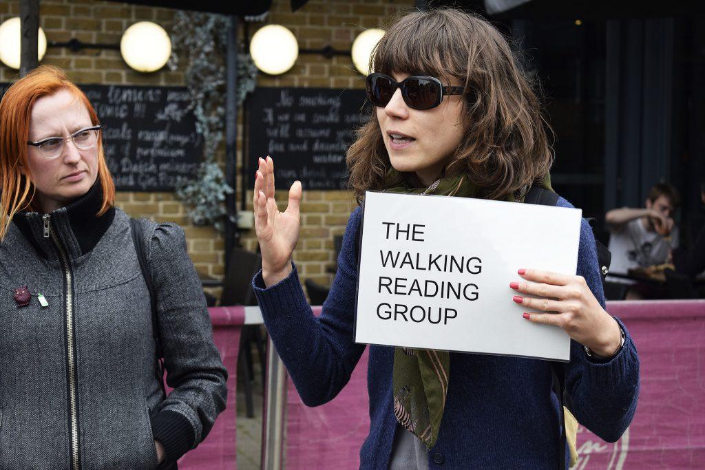 Ash Walks, The Walking Reading Group, 2018. Photo: Rosie Lonsdale